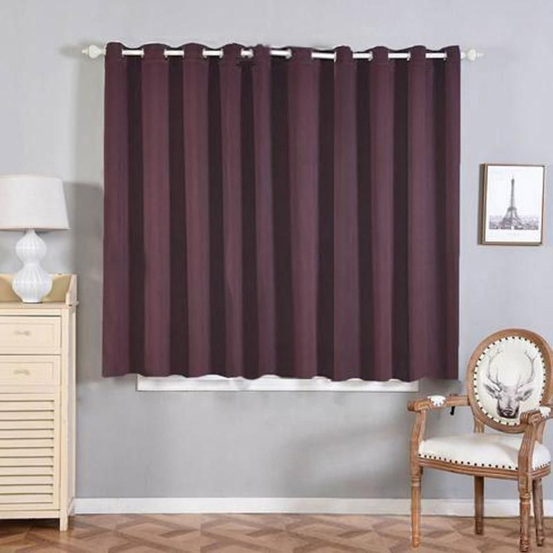 Chocolate Soundproof Curtains 2 Packs 52 X 64 Inch Blackout Curtains Room Darkening Curtains With Grommets Grommet Curtains Room Darkening Curtains Grommet Window Treatments