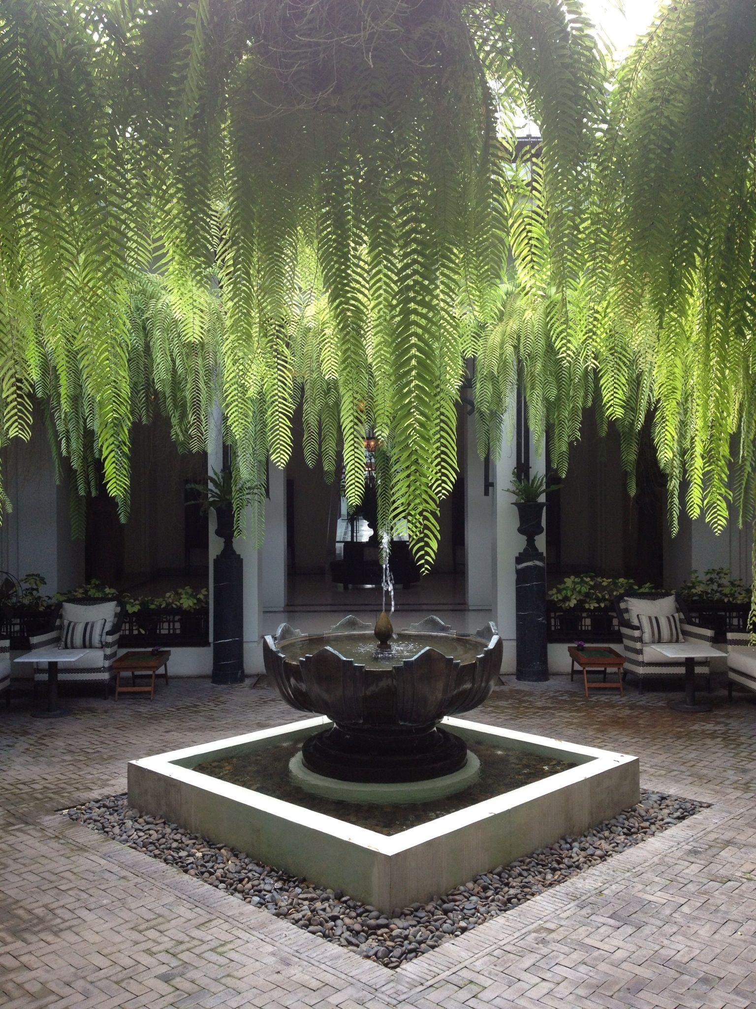A tropical paradise in bangkok antiques and art deco for Outdoor furniture thailand bangkok