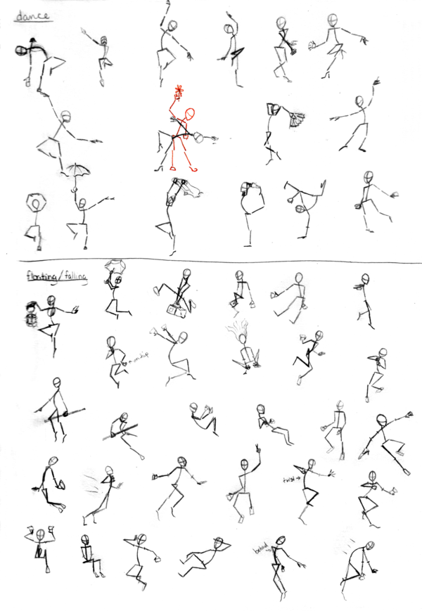 Pose study 2 Poses, Caricature drawing, Figure drawing poses