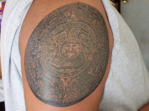 97b6713bcfb71 aztec sun stone by Steven Rascon – Tattoo Picture at CheckoutMyInk ...