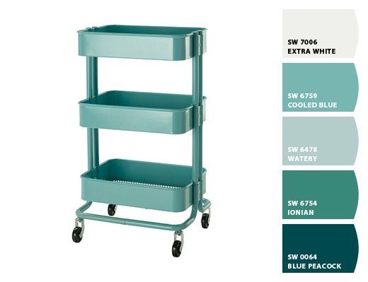 Raskog Colors Ikea Cart
