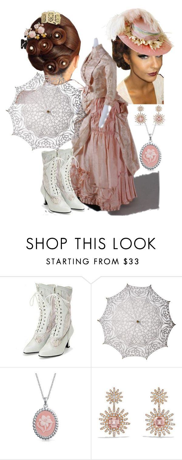 """""""Blushed Stroll"""" by charlie-aw-easter on Polyvore featuring Cultural Intrigue, Bling Jewelry and David Yurman"""