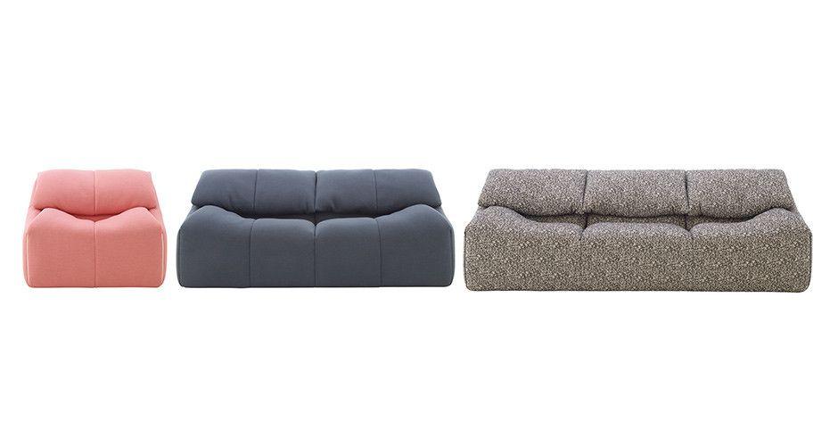 Plumy Sofa Set By Ligne Roset Modern Sofas Los Angeles Modern