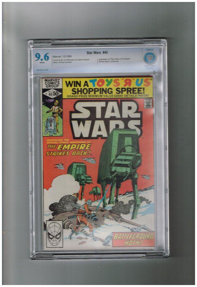 STAR WARS (v1) #40 CBCS Grade 9.6 Bronze Age find! Empire Strikes Back part 2!  http://www.ebay.com/itm/STAR-WARS-v1-40-CBCS-Grade-9-6-Bronze-Age-find-Empire-Strikes-Back-part-2-/301500053961?roken=cUgayN&soutkn=vrnmOI