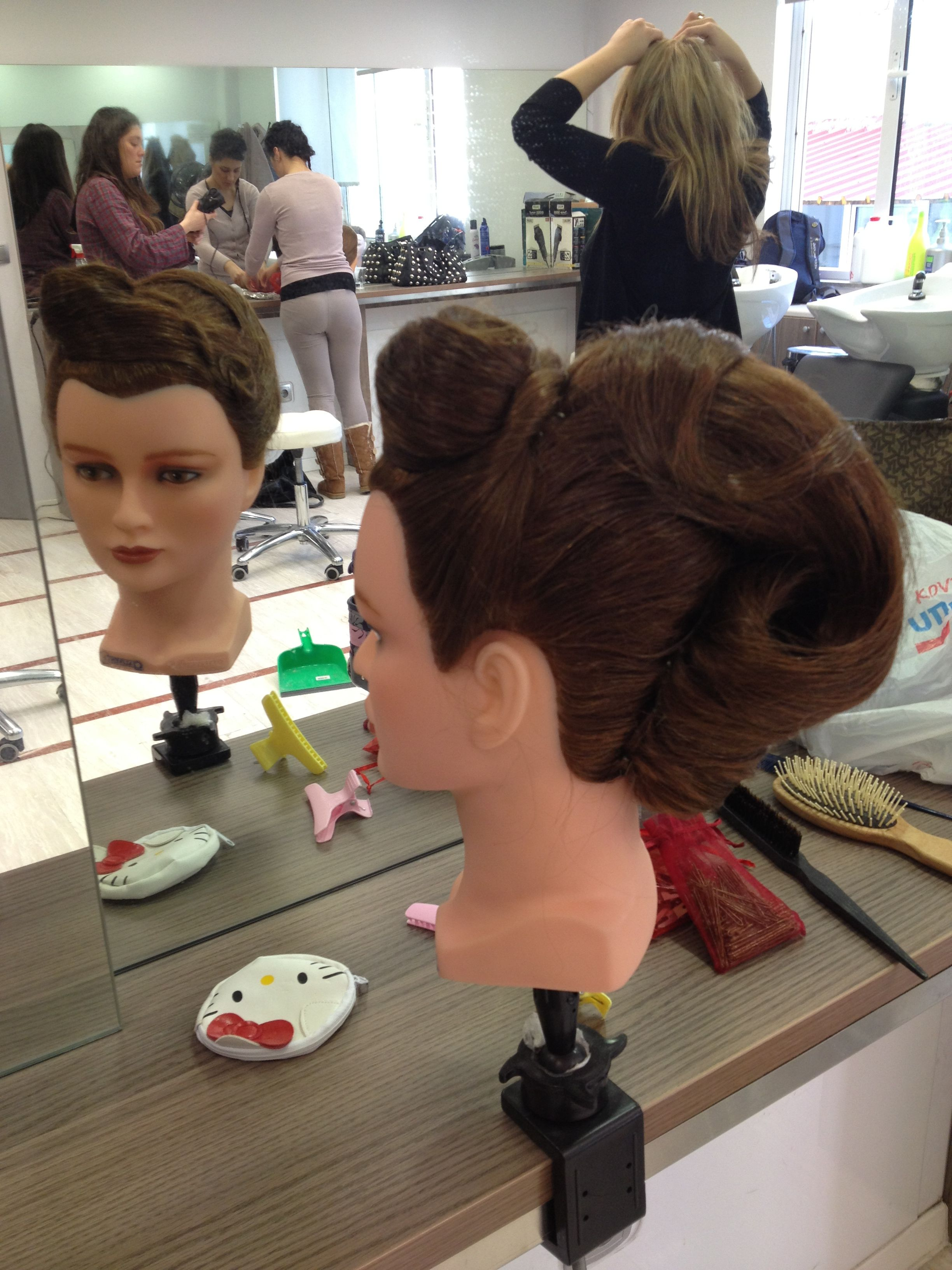 Hairstyles Updos Pin Up Hairstyles By Me Pinterest Up Dos