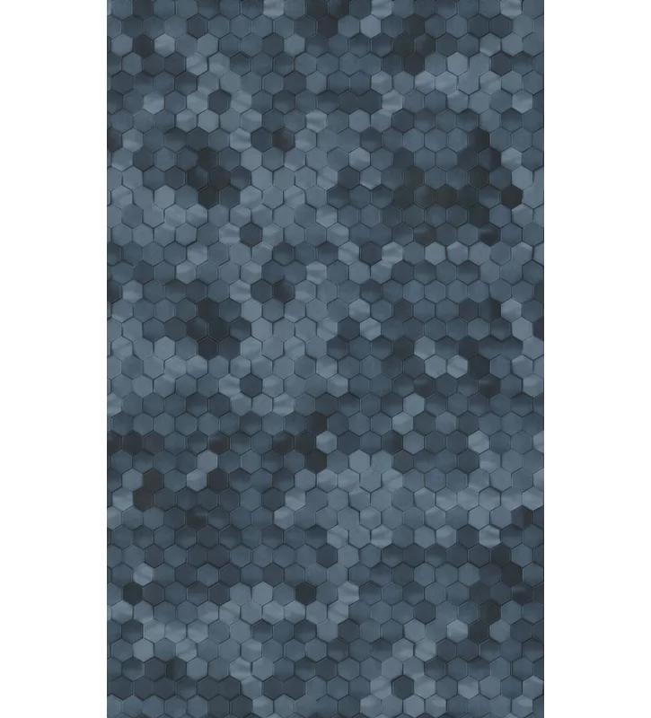 """Lindale Hexagons 33' L x 21"""" W Glitter Wallpaper Roll"""