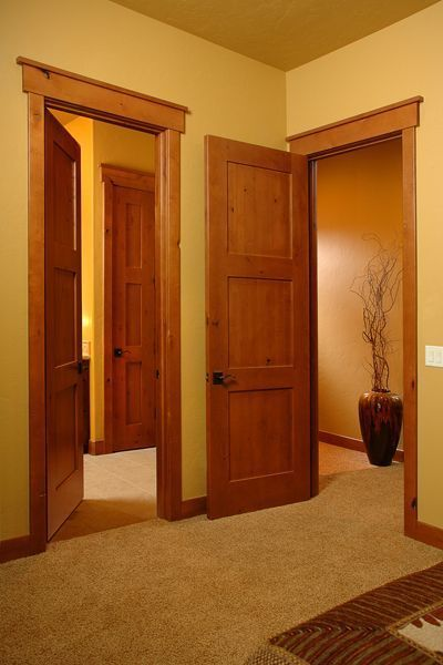 KNOTTY ALDER 3 PANEL MISSION/SHAKER STYLE INTERIOR DOORS IN-…