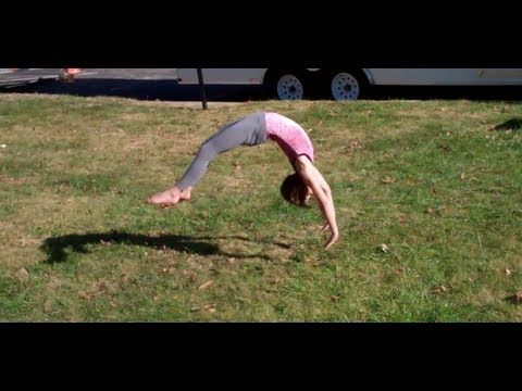 b412b6dbdf7b 7 and 9 Year Old Gymnastics Tumbling! | Cheer | Gymnastics ...