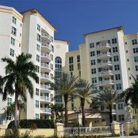 The Townsend Condos are in east Boca Raton, right across the street from Royal Palm Place.