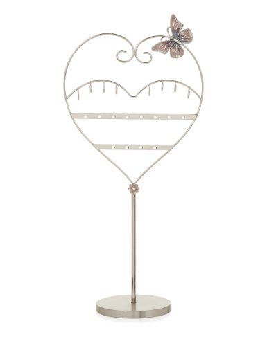 M&S Collection Butterfly & Heart Mannequin Jewellery Holder-Marks & Spencer