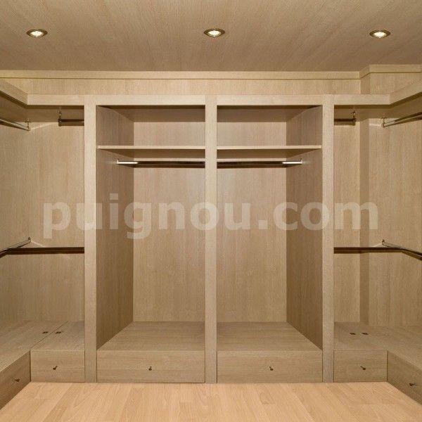 Diseño de armarios, cajoneras, puertas y estanterias para hacer de ...