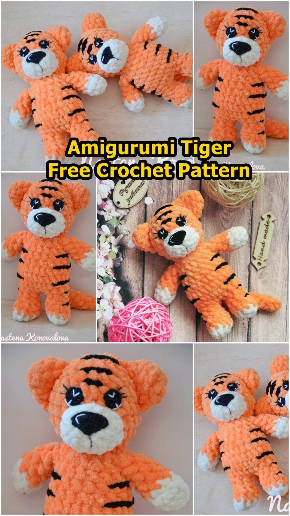 14 Best Amigurumi Tigers images | Amigurumi, Crochet patterns ... | 1800x1013