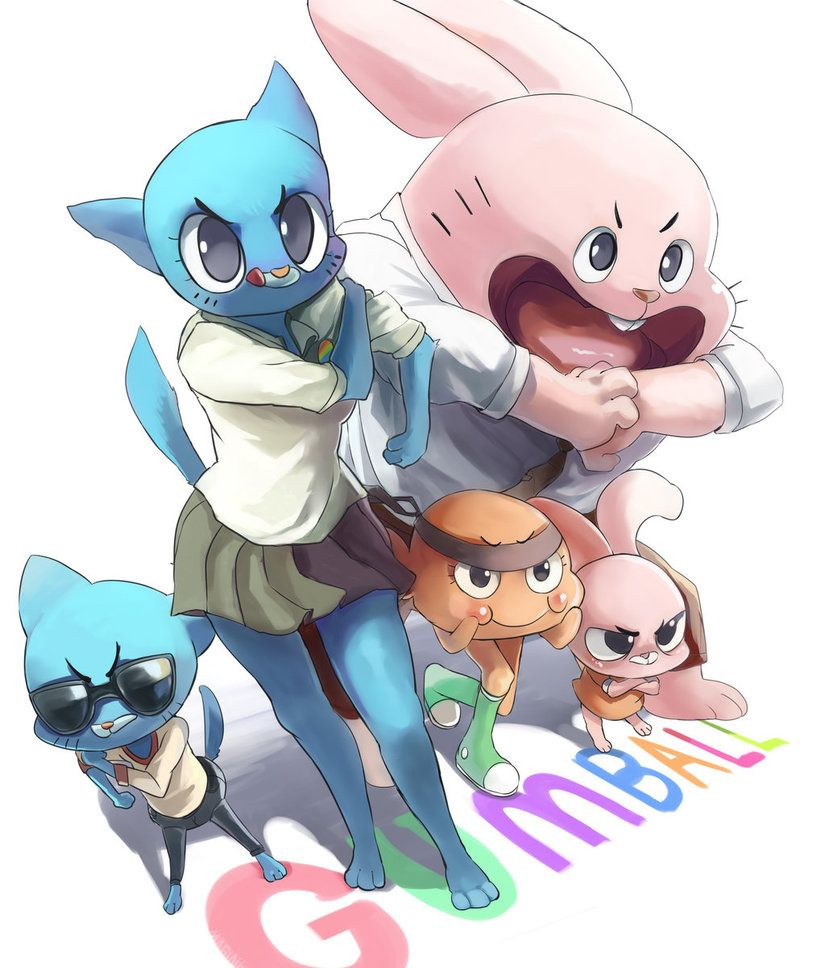 They Look So Badass To Me Lol The Amazing World Of Gumball