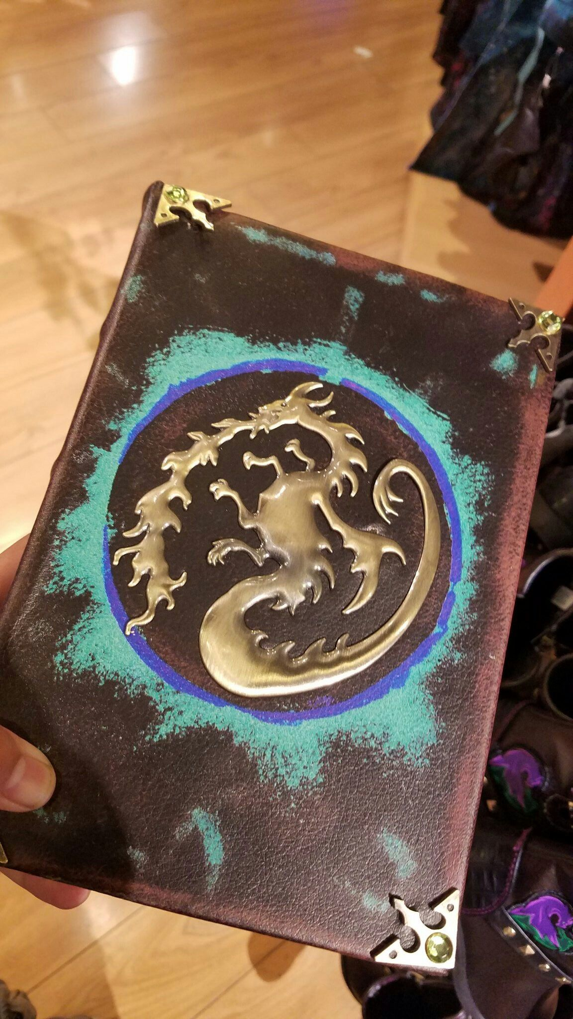 Mal's spell book on sale today at the Disney store