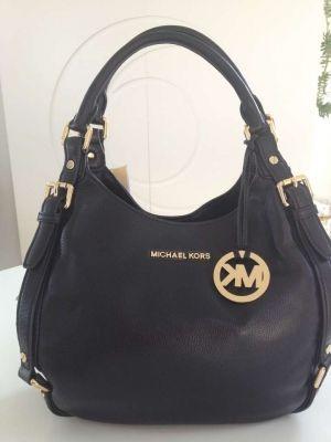 michael kors bedford tote medium genuine leather shoulder bag 215 rh pinterest com