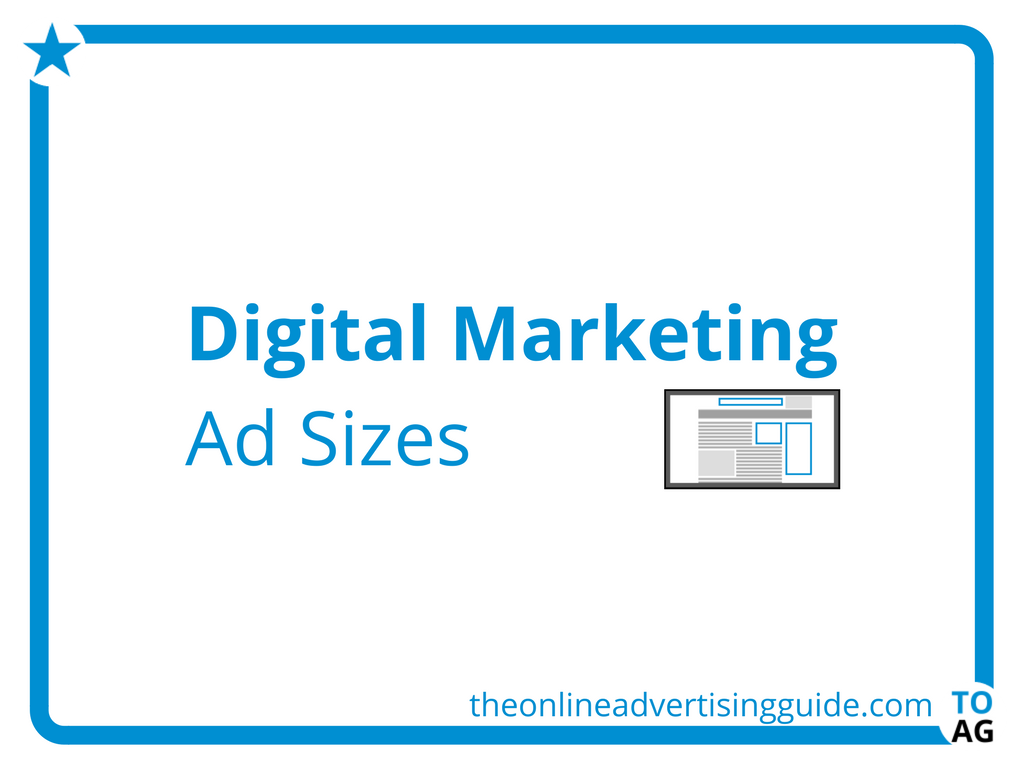 The Ad Size Guide (With images) Marketing words, Online