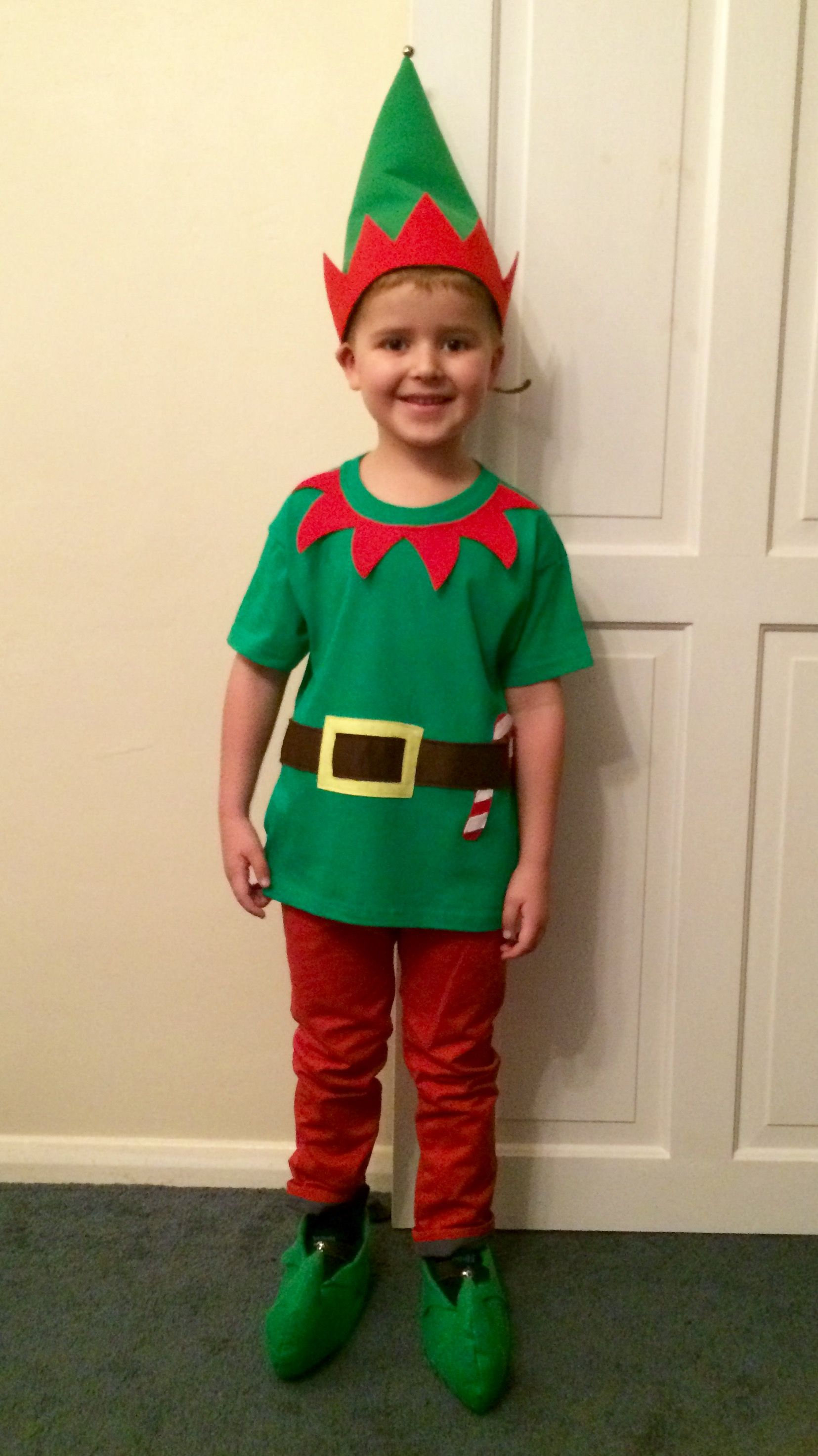 Elf costume Christmas DIY Christmas elf costume diy