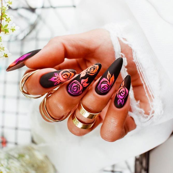 Best Hues For Almond Shaped Nails | NailDesignsJou