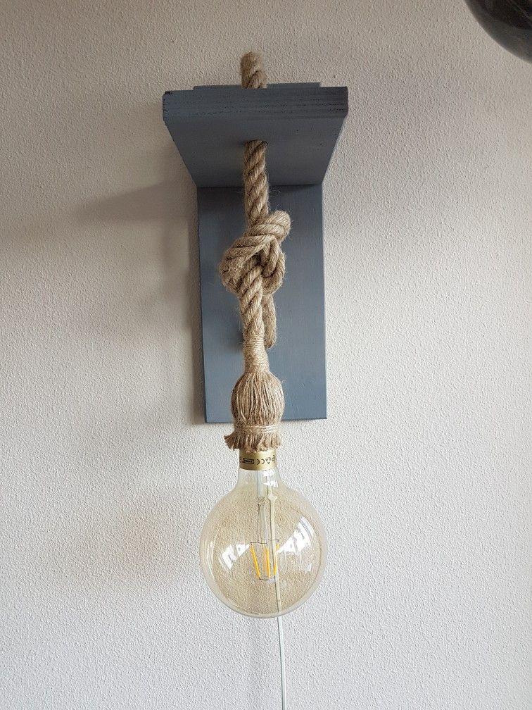 Lamp Van Touw Lampen Touw