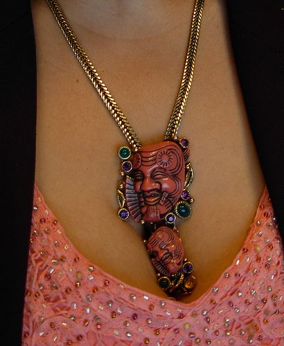 i love this necklace….  Selro vintage … MINE!
