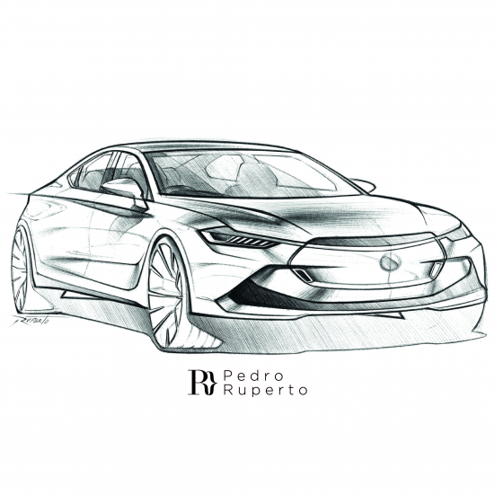 Training another type of perspective and getting better and better on proportions. Never stop practicing! @sketchit_br ????????#transportationdesign #cardesign #automotivedesign #carsketch #sketch #sketching #cardrawing #sportscar #sedan #bic #pen #handdrawing #braziliandesigner #sedan #sedan #sketch