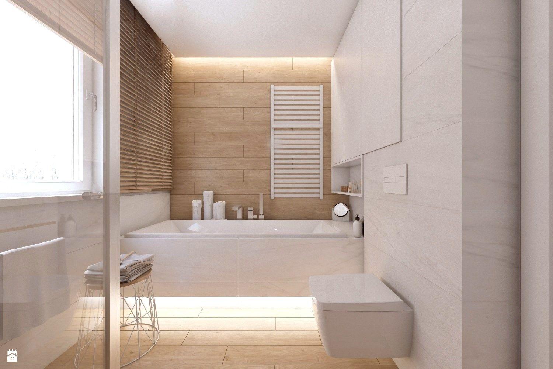 łazienka Styl Skandynawski Zdjęcie Od Bagua Pracownia