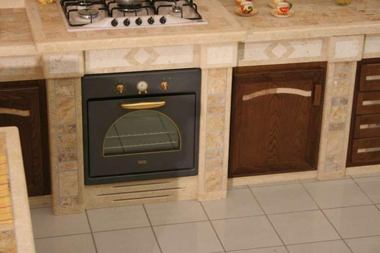 Cucine in muratura rustiche e moderne - Particolari di una cucina in ...