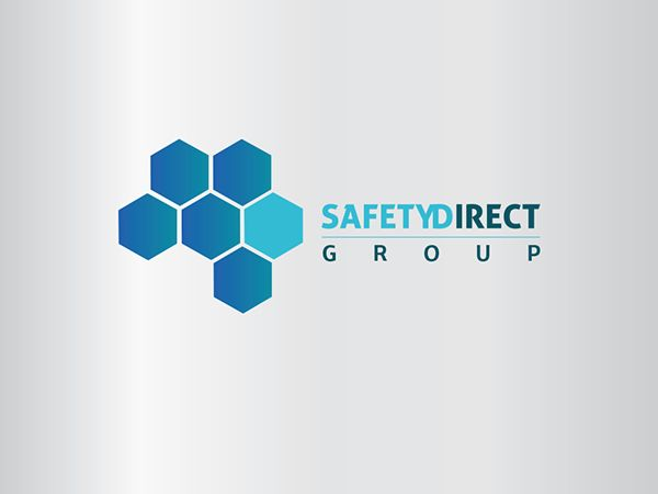 Client Brief To Produce Rebranding For The Safety Direct Group Company Logo Taking Into Consideration The Compa Logo Concept Hexagon Logo Identity Design Logo