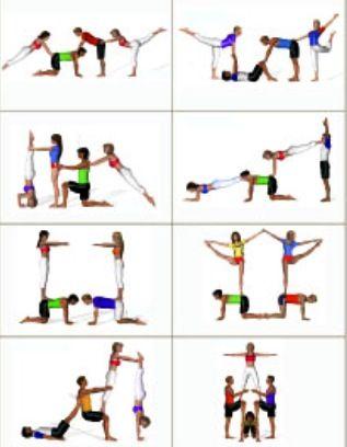 Figures D Acro Gym Acro Gymnastics Acro Yoga Partner Yoga
