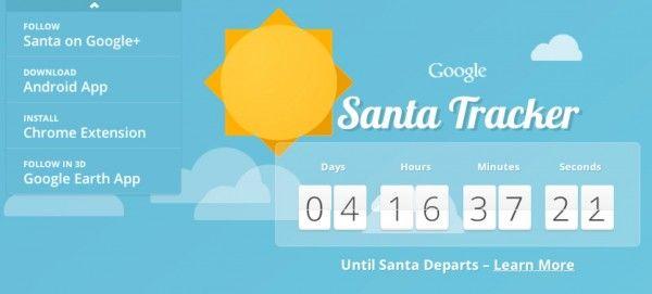 Google Challenges Norad In Tracking Santa Launches Google Santa Tracker Santa Tracker Earth App Santa Tracking