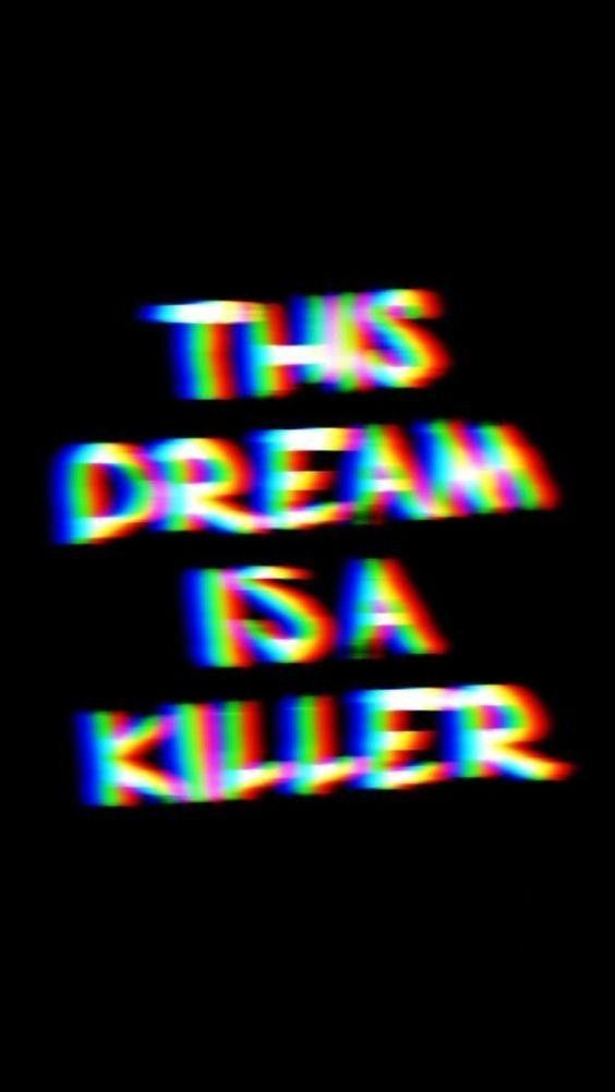 Kill Trippy Wallpaper Dark Wallpaper Iphone Glitch Wallpaper