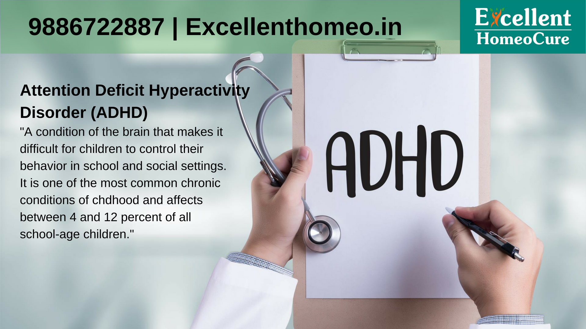 Best Homeopathy Doctors For Adhd Problems In Bangalore Excellent