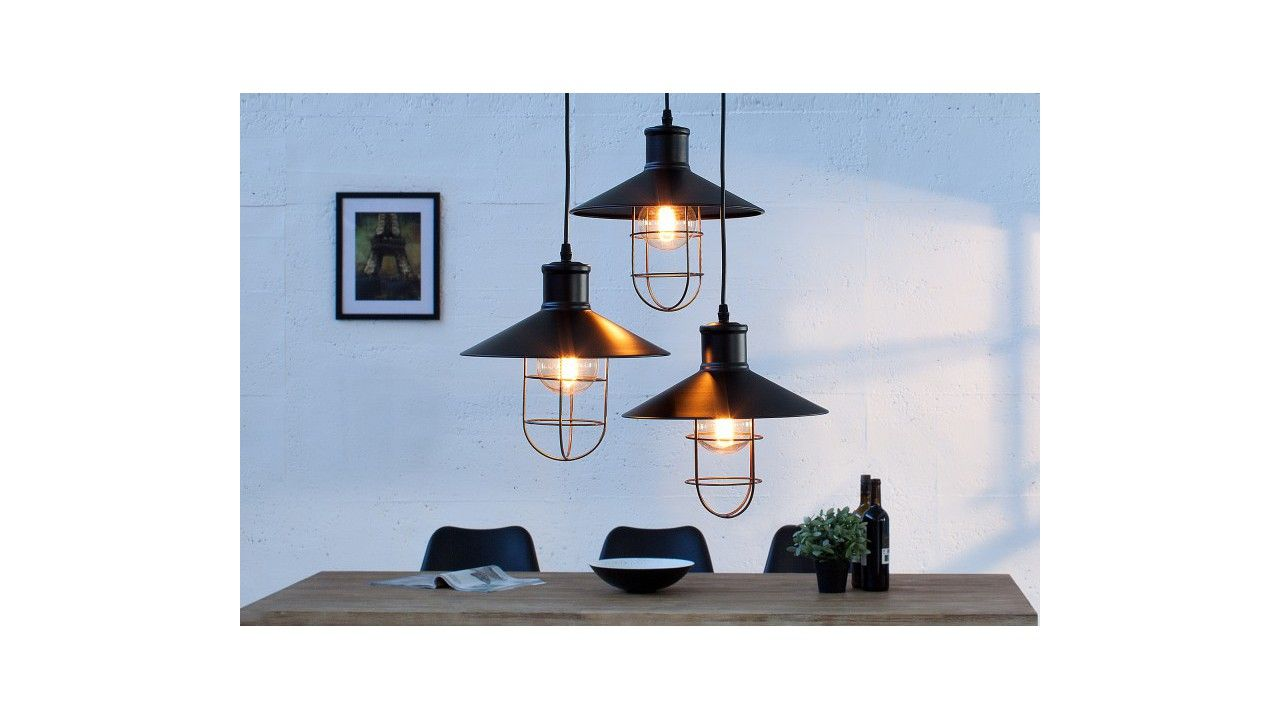 Lampe Suspension Style Industriel Suspension Industrielle Trimaran Luminaires Design Style