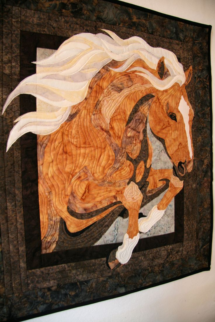 Modern Horses Quilt