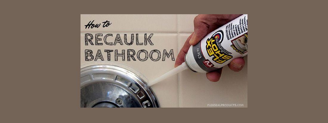 Flex Shot As Bathroom Caulk