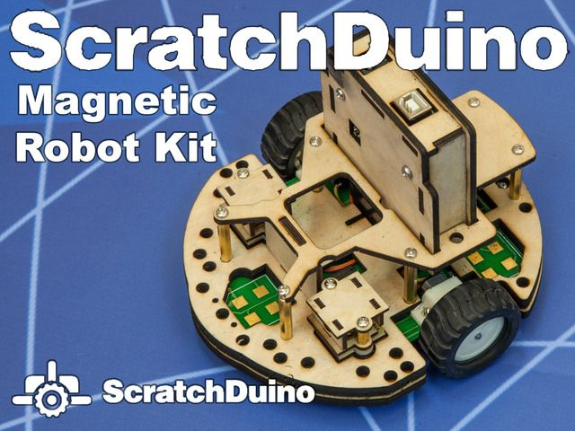 Scratch Duino is a highly customizable, simple and