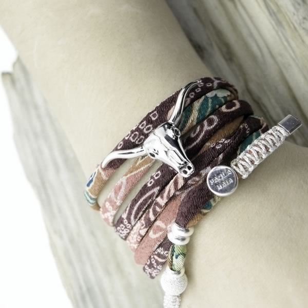 Souvent Collier bracelet Tête de buffle | Bracelets Paola Naïa | Pinterest  QP45