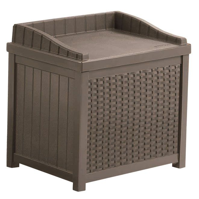 Banc D Entreposage Exterieur Rona 59 99 Outdoor Storage Seat Outdoor Storage Bench Patio Storage