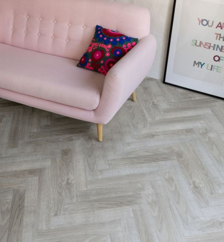 Creative Hallwayideas: Parquet Laminate Flooring With Easy Click Inst