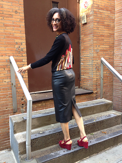 Carla Hall Wardrobe Information From The Chew  Carla Hall -8974