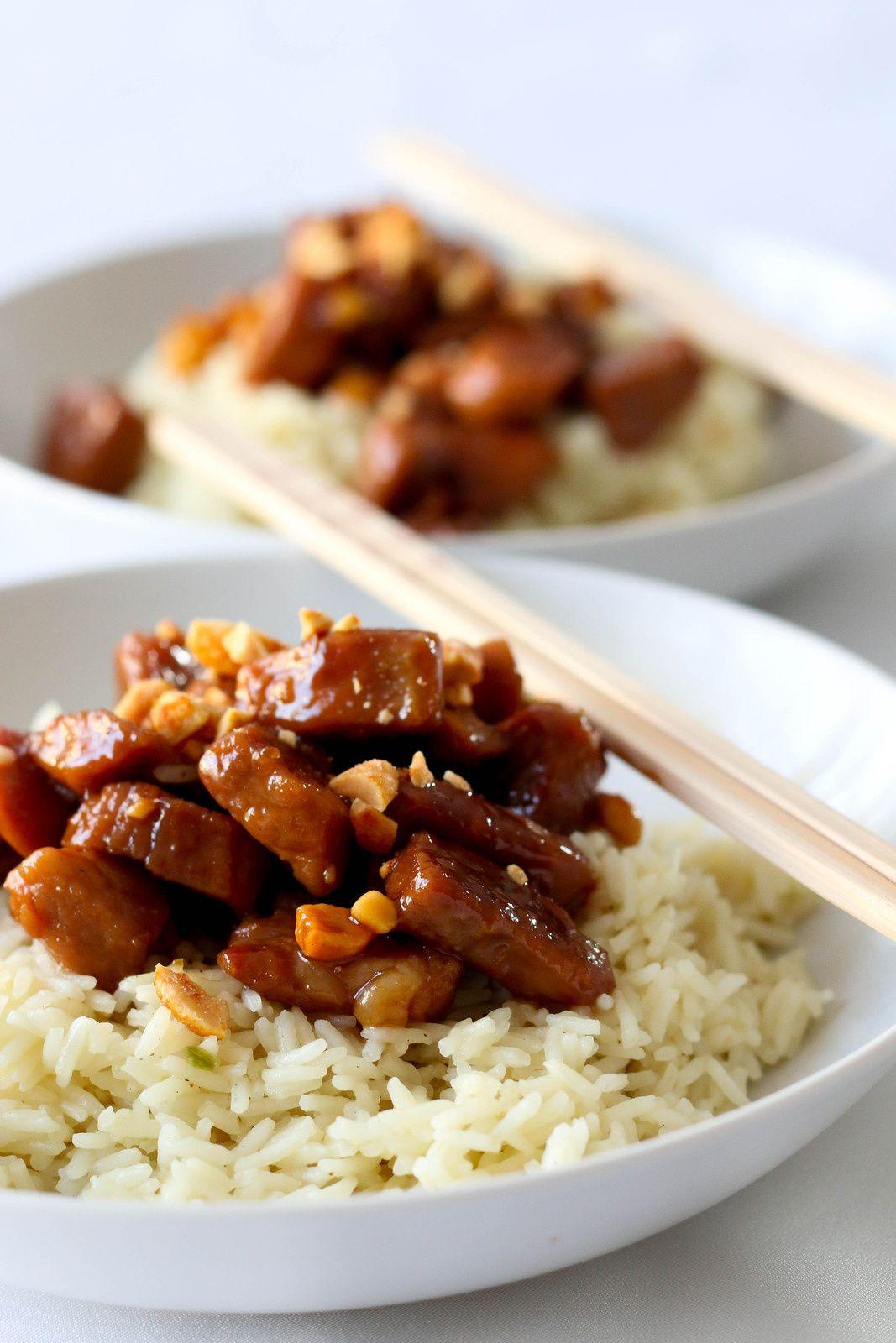 Porc au caramel asie porc restaurant et cuisine for Cuisine asiatique