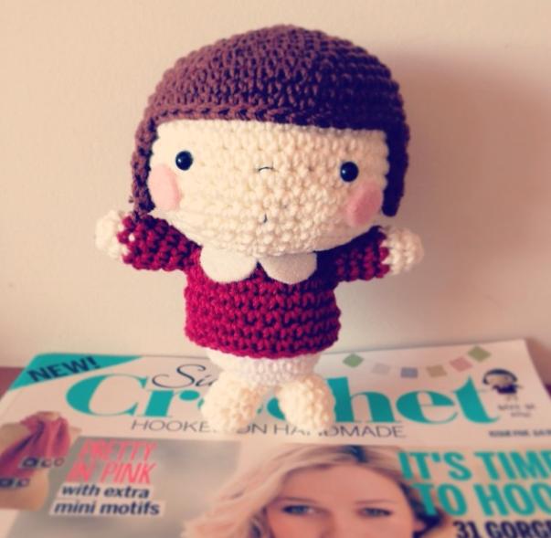 Chiyo-Chan in @Simply Crochet :) @Mei Li Lee pattern