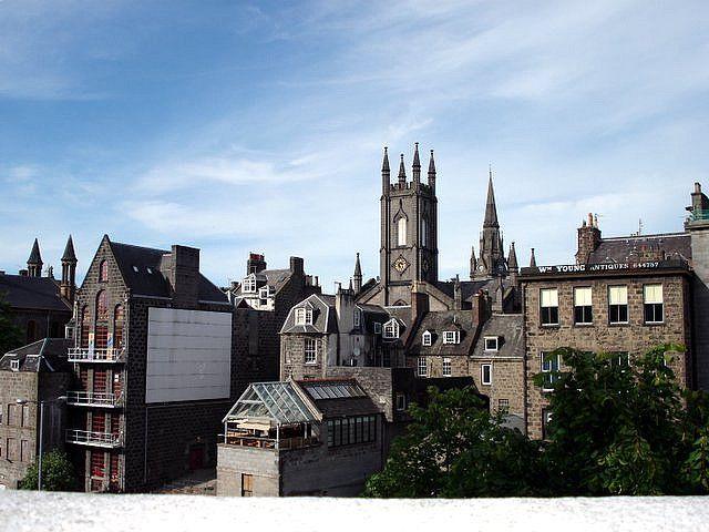 Aberdeen Scotland The Granite City Granite City City Scotland