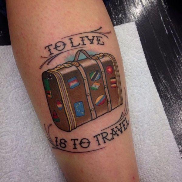 These Small Tattoos For Travelers With Meanings Are A