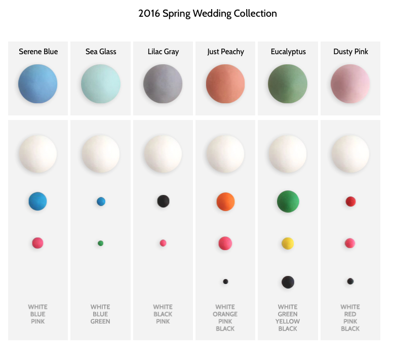 Spring is officially here - and so is the start of wedding season! Satin Ice has got you covered with our 2016 Spring Wedding Color Mixes!!! With the help of Satin Ice Artist of Excellence Sachiko Windbiel of Mimicafe Union @New York, we've created the perfect fondant blends that align with this year's hottest wedding trends!