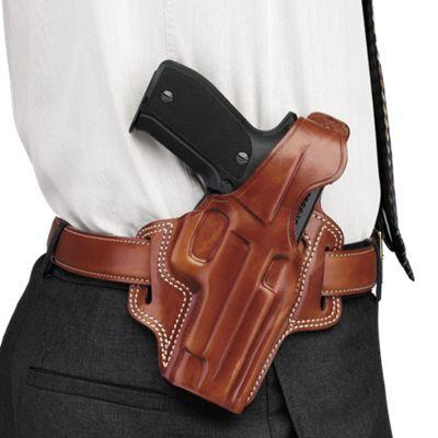 Galco Fletch High Ride Belt Handgun Holster - Tan - GLOCK 20