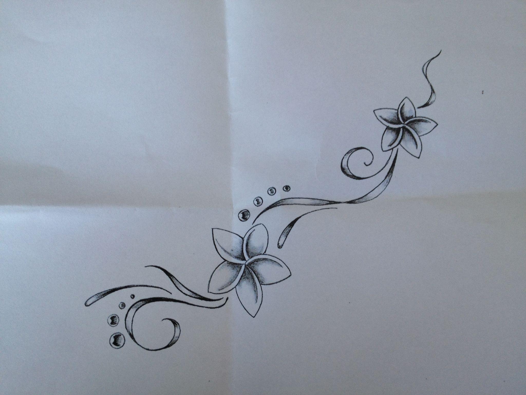 Ce tattoo sera bientot grave sur mon pied et ma cheville - Fleur tatouage dessin ...