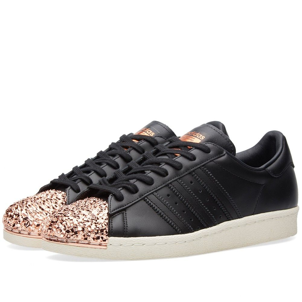 Women's Adidas Superstar 80s with 3D Textured Copper Shell