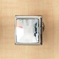 bathroom cabinet  Alno C212-CLR Large Square Crystal Knob