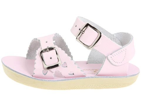 03a9881cf7af Sun-San Saltwater Sweetheart Sandals in Pink from Smocked Auctions  31.99